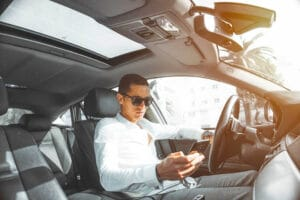 Distracted Driving Accident in Houston